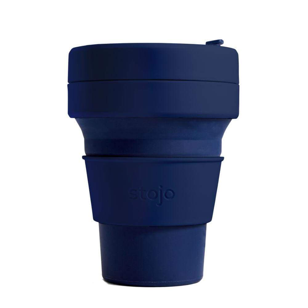 Stojo Brooklyn The Collapsible Pocket Cup - Denim