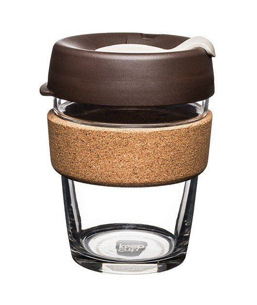 KeepCup Cork Brew 12oz - Almond