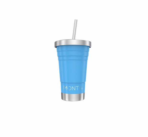 Mini Montii Smoothie - Insulated Cup - Blue