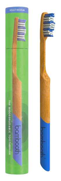 Bamboo Toothbrush - Medium - Sea Blue