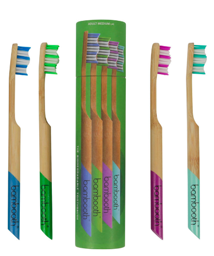 Bamboo Toothbrush - Medium - Multipack