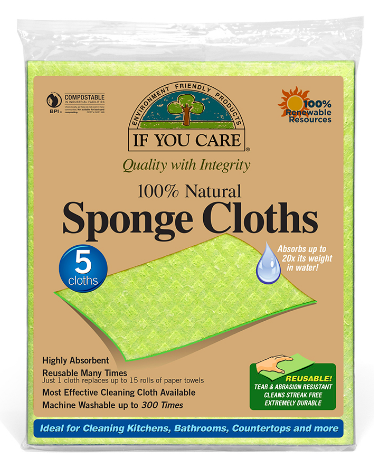 Natural Sponge Cloths