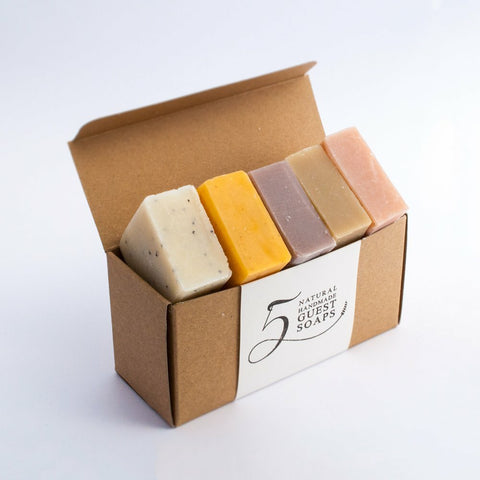 5 Soap Gift Set by Dalkey Handmade Soaps