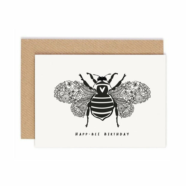 Happ-Bee Birthday Card