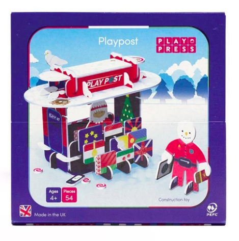 Playpress Christmas Post Office - Build & Play Set