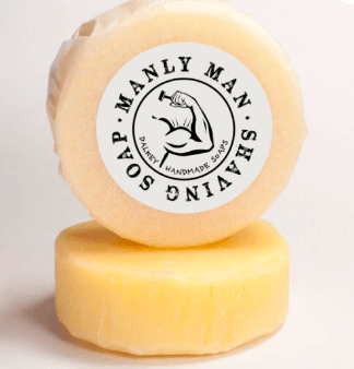 Manly Man Shaving Puck by Dalkey Handmade Soaps