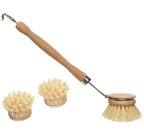 Replacement Head - Wooden Washing Up Brush - Large, 5cm