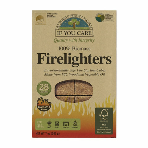 Petrol-Free Firelighters - 28 per pack