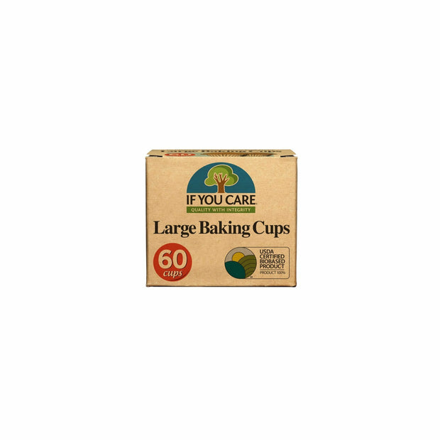 Large Baking Cups - 60 cups
