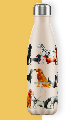 Emma Bridgewater Dogs Insulated Bottle by Chilly's - 500ml