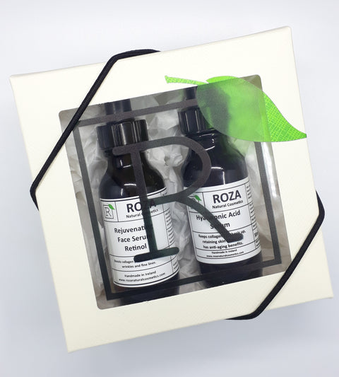 The Serum Set by Roza Natural Cosmetics