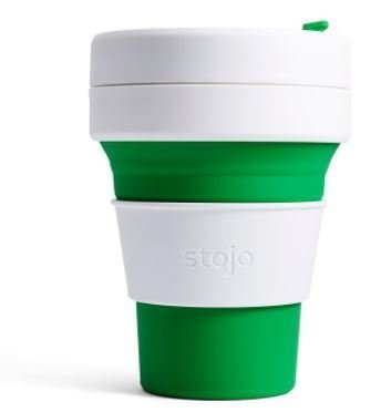 Stojo The Collapsible Pocket Cup - green