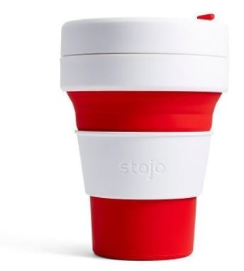 Stojo The Collapsible Pocket Cup - red