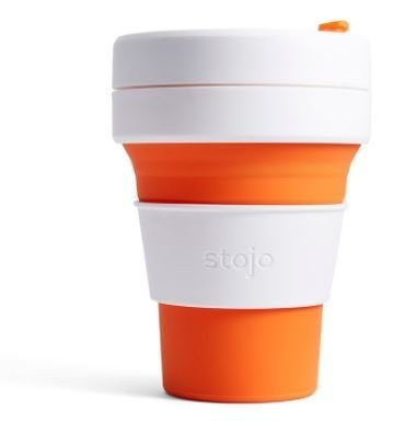 Stojo The Collapsible Pocket Cup - orange