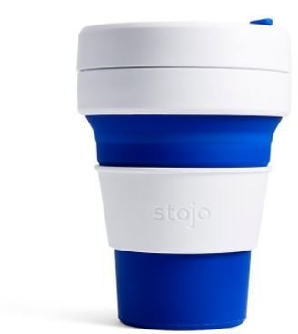 Stojo The Collapsible Pocket Cup - blue