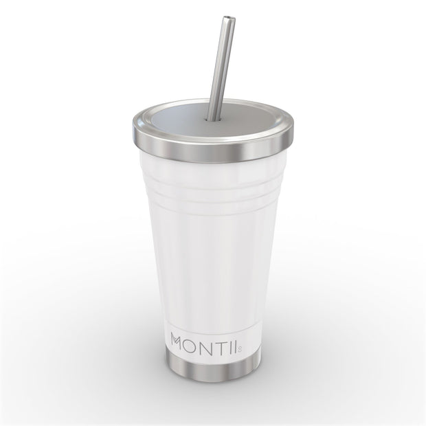 Insulated Smoothie Cups by Montii - White