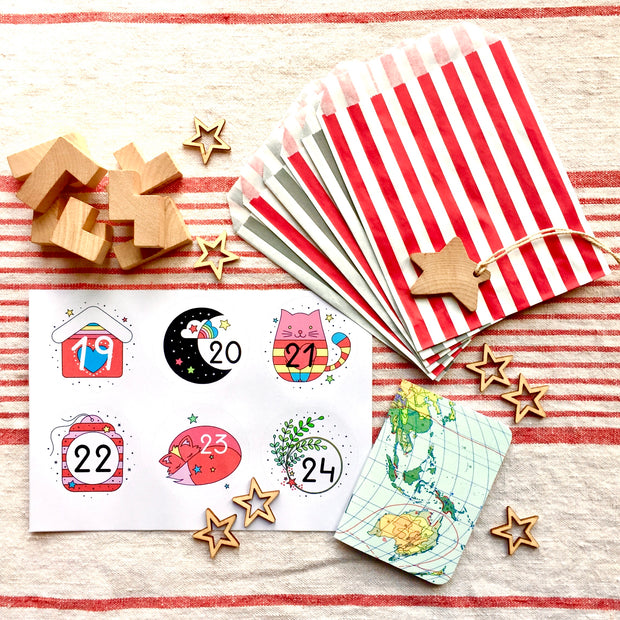 DIY Advent Calendar | Plastic-Free + Recyclable