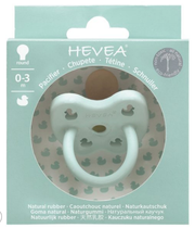 Rubber Soother by Hevea 0-3 months - Mellow Mint