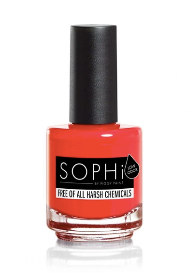SOPHi pregnancy-safe nail polish vegan 12-free just 4 ingredients - POP-arazzi