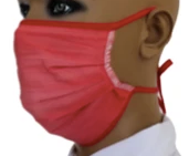 SALE >>> 100% Cotton Reusable Double Layer, Tie-Back Cloth Face Masks
