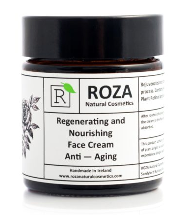 Regenerating and Nourishing Face Cream - Anti-Aging by Roza Natural Cosmetics