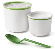 Two Tier Lunch Pot with Spork