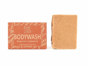 Bergamot + Grapefruit Body Wash Soap Bar