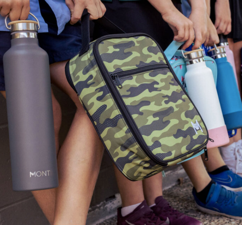 Insulated Lunch Bag by Montii - Camouflage