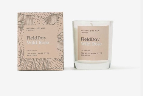 Wild Rose Small Candle