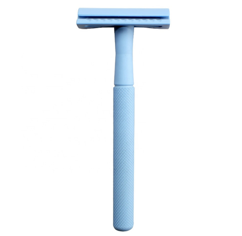 Powder Blue Single-Blade Razor