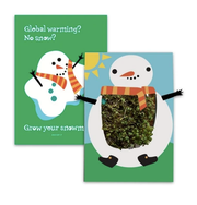 Snow Man - Growing Greeting Card