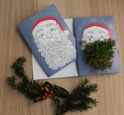 Let It Grow (Santa Beard!) - Growing Greeting Card