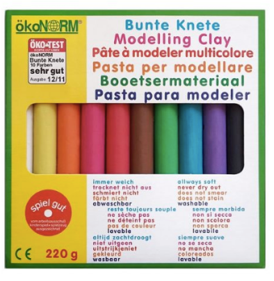 Modelling Clay – 10 Colours