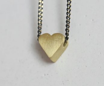 Delicate Heart Necklace by Kaiko Studios