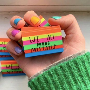 Eraser for Mistakes by Nicola Rowlands