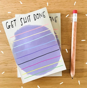 Desk Jotter: Get Sh*t Done by Nicola Rowlands