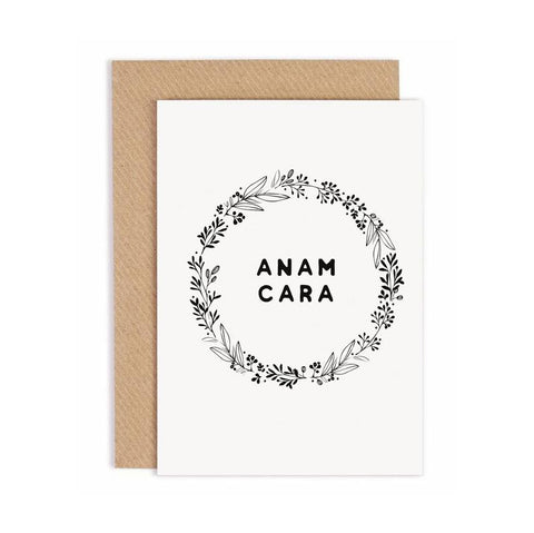 'Anam Cara' - Soulmate Card by Under the Willow Paper Co.