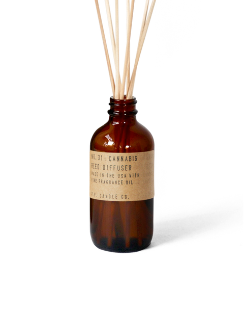 Cannabis Reed Diffuser by P.F. Candle Co. - Large