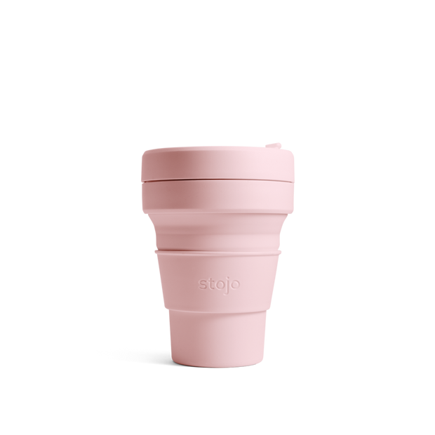 Stojo Brooklyn The Collapsible Pocket Cup - Carnation