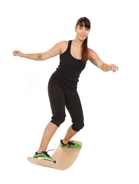"das.Brett Bouncy Play, Balance & Exercise Board - ""the Brett Cork"", Natural"