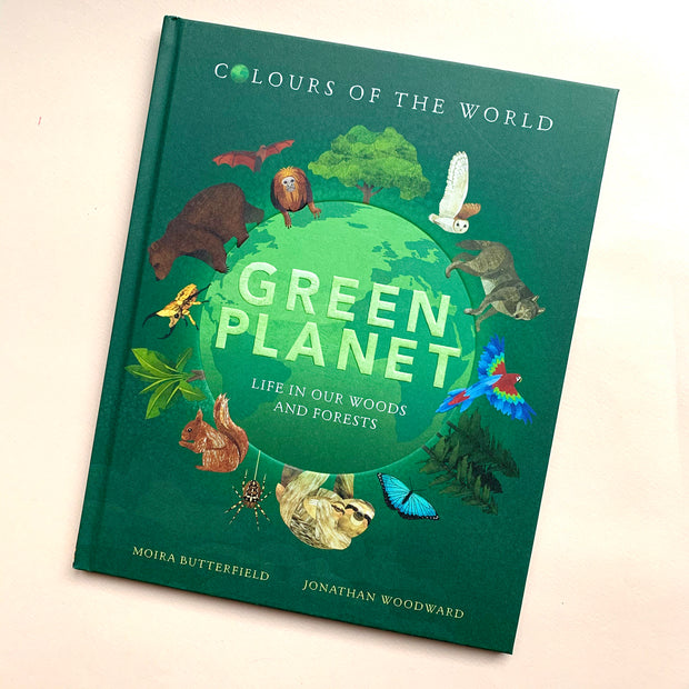Green Planet | A Book by Moira Butterfield and Jonathan Woodward
