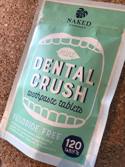 Dental Crush - Toothpaste Tablets with Flouride FREE by Naked Company