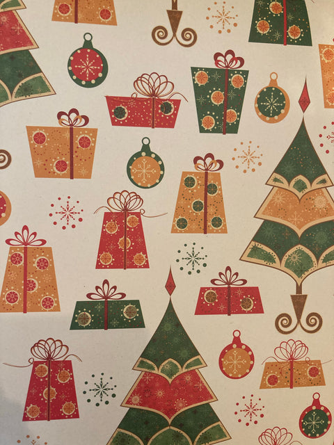 Recycled Gift Wrapping Paper - Gifts