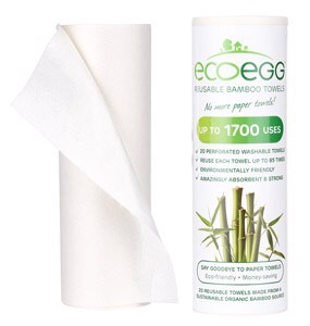 Reusable Bamboo Kitchen Towel Roll by Eco Egg