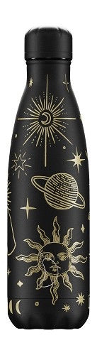 Mystic Black Insulated Bottle by Chilly's - 500ml