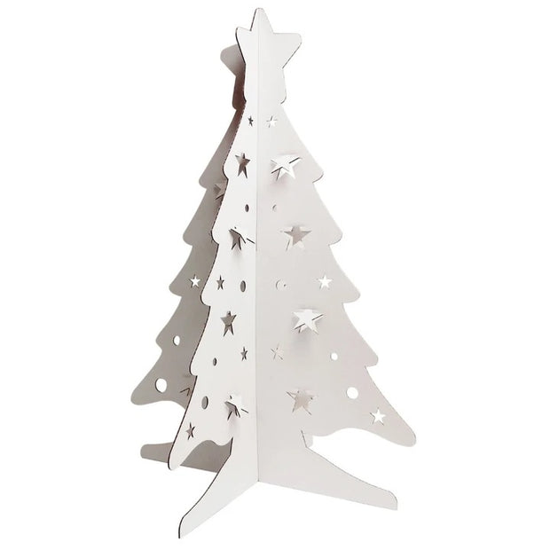 Recycled 3D DIY Christmas Tree