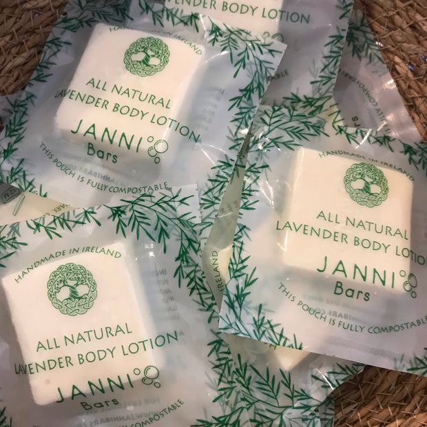 MINI Moisturising Body Bar - Lavender Lotion by Janni Bars