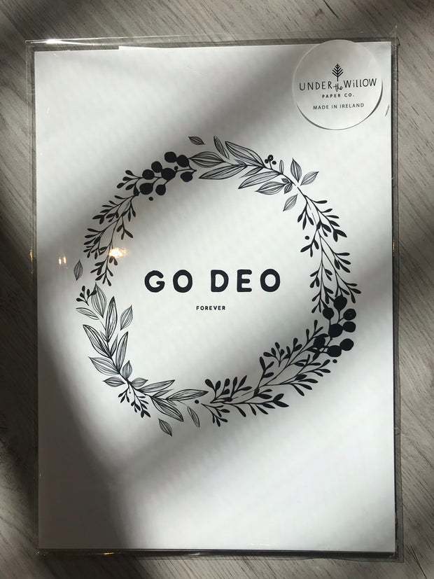 Go Deo / Forever A4 Print by Under the Willow Paper Co.
