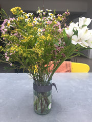 Upcycled Tall Vase