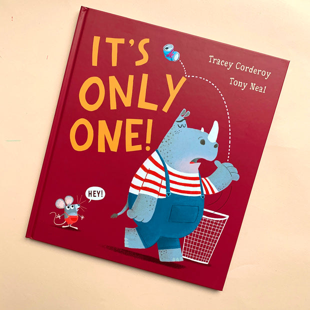 It's Only One | A Book by Tracey Corderoy and Tony Neal